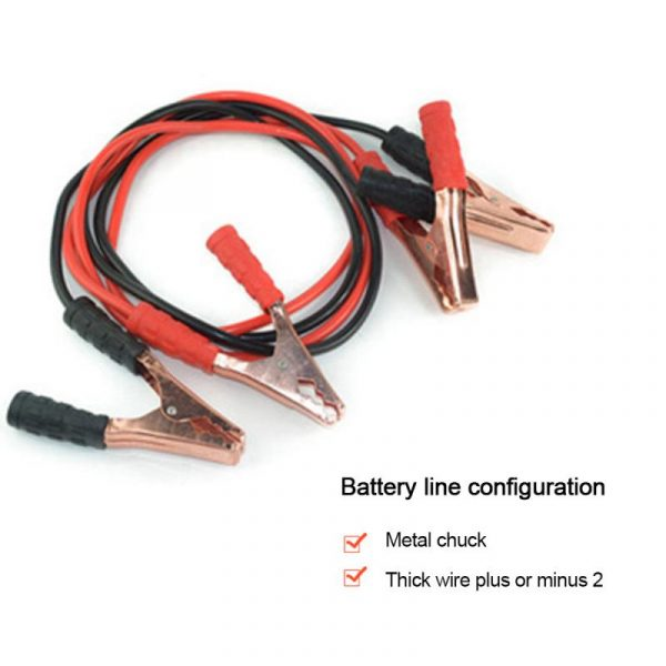 Auto Booster Cable Car Starting Jumper Cable Emergency Power Charging Battery Booster Cord Copper Wire Car Accessories