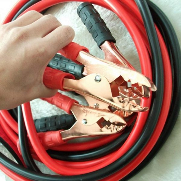 500AMP Gauge Power Booster Cable Emergency Car Battery Jumper Start Heavy Emergency Power Start Jumper Cable